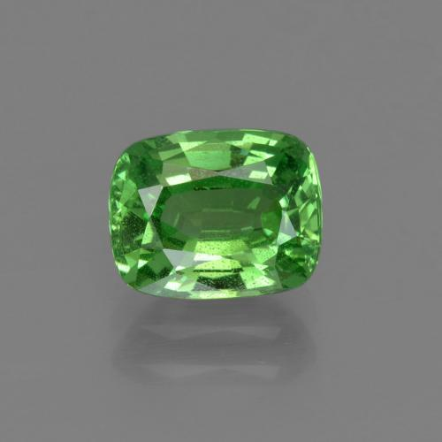 Medium Green Tsavorite Garnet Gem - 1.8ct Cushion-Cut (ID: 415335)