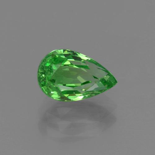 1.52 ct Sfaccettatura a pera Verde brillante Granato tsavorite Gem 8.42 mm x 5.4 mm (Photo A)