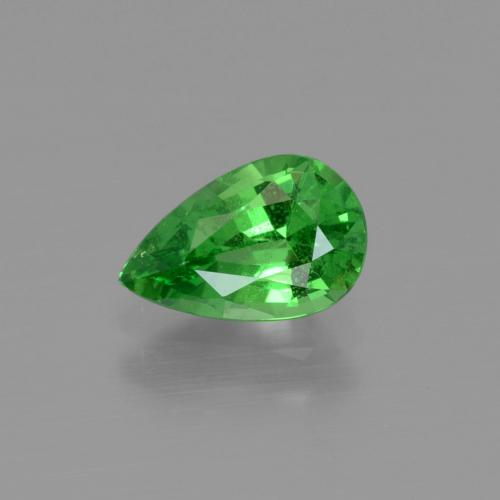 1.1ct Pear Facet Bright Green Tsavorite Garnet Gem (ID: 415390)