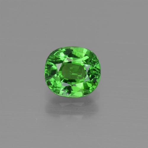 1ct Oval Facet Medium Green Tsavorite Garnet Gem (ID: 415396)