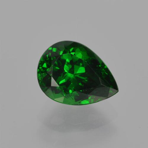 Green Tsavorite Garnet Gem - 1.7ct Pear Facet (ID: 415746)