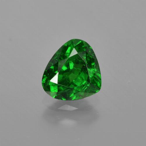Green Tsavorite Garnet Gem - 1.1ct Pear Facet (ID: 415862)
