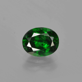 1.1ct Oval Facet Forest Green Tsavorite Garnet Gem (ID: 415863)