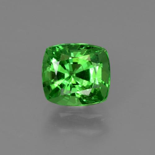 Green Tsavorite Garnet Gem - 1.1ct Cushion-Cut (ID: 422621)