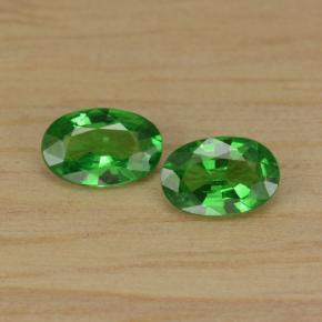 0.4ct Oval Facet Green Tsavorite Garnet Gem (ID: 467683)