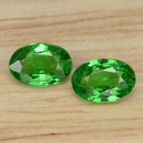 0.4ct Oval Facet Medium Green Tsavorite Garnet Gem (ID: 468818)