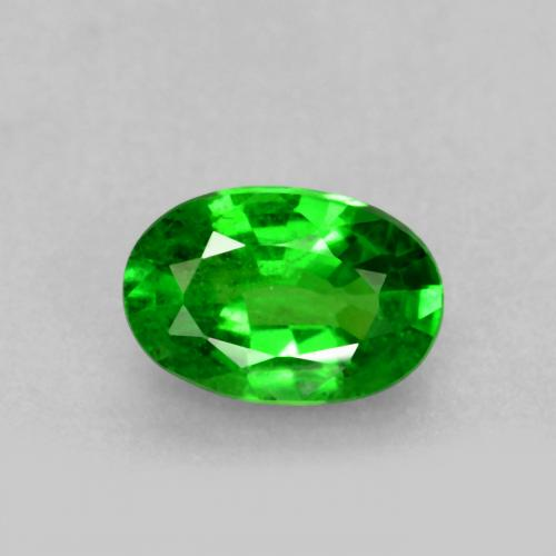 0.5ct Oval Facet Bright Green Tsavorite Garnet Gem (ID: 468852)