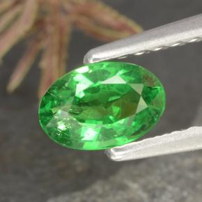 thumb image of 0.5ct Oval Facet Green Tsavorite Garnet (ID: 468853)