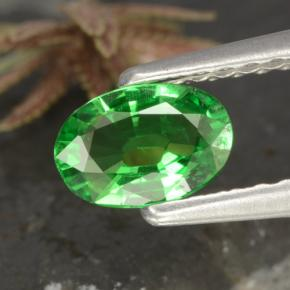 thumb image of 0.4ct Oval Facet Green Tsavorite Garnet (ID: 468858)