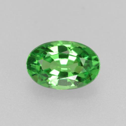 Green Tsavorite Garnet Gem - 0.5ct Oval Facet (ID: 468943)