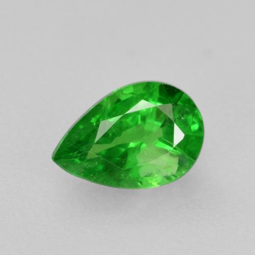 0.5ct Poire facette Medium Green Grenat Tsavorite gemme (ID: 469028)