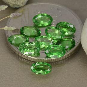 0.2ct Oval Facet Bright Green Tsavorite Garnet Gem (ID: 481871)