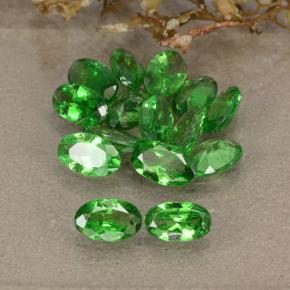 0.2ct Oval Facet Medium Green Tsavorite Garnet Gem (ID: 484884)