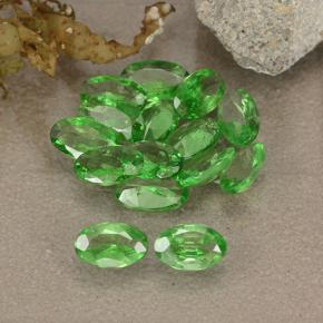 0.2ct Oval Facet Lively Green Tsavorite Garnet Gem (ID: 484889)
