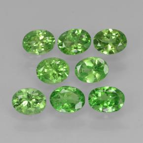 0.2ct Oval Facet Lively Green Tsavorite Garnet Gem (ID: 503058)