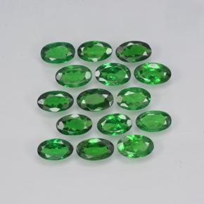 0.2ct Oval Facet Deep Green Tsavorite Garnet Gem (ID: 503071)