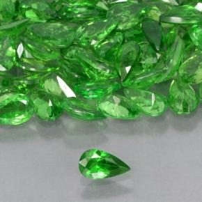 Green Tsavorite Garnet Gem - 0.2ct Pear Facet (ID: 503312)
