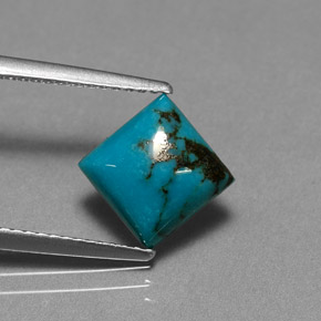 Buy 2.04 ct Blue Turquoise 7.89 mm x 7.9 mm from GemSelect (Product ID: 282064)