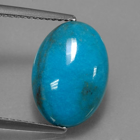 Buy 4.39 ct Blue Turquoise 14.07 mm x 10.1 mm from GemSelect (Product ID: 320248)