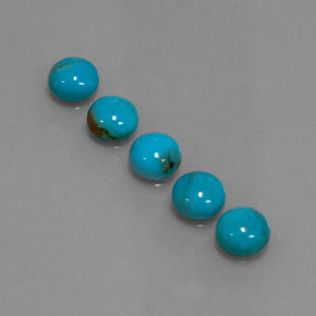 Buy 3.59ct Blue Turquoise 6.04mm  from GemSelect (Product ID: 320476)
