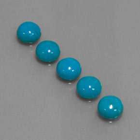 Buy 3.72 ct Blue Turquoise 6.01 mm  from GemSelect (Product ID: 320478)