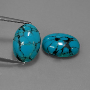 Buy 7.12 ct Blue Turquoise 13.87 mm x 9.9 mm from GemSelect (Product ID: 320878)