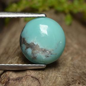 thumb image of 2.2ct Round Cabochon Blue Turquoise (ID: 497151)