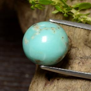 thumb image of 15.5ct Spherical Greenish Blue Turquoise (ID: 499085)