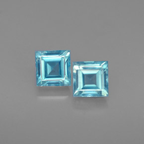 Buy 1.62 ct Blue Zircon 4.43 mm x 4.3 mm from GemSelect (Product ID: 232655)