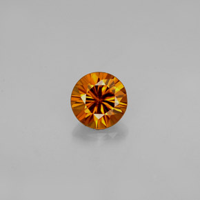 Buy 0.90 ct Orange Zircon 5.42 mm  from GemSelect (Product ID: 237051)