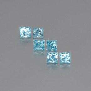 Buy 2.39 ct Blue Zircon 3.66 mm x 3.6 mm from GemSelect (Product ID: 258785)