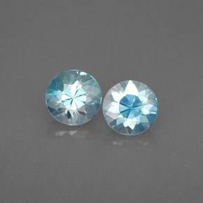 Buy 1.57 ct Blue Zircon 4.99 mm  from GemSelect (Product ID: 284577)