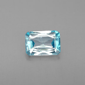 Buy 1.38 ct Blue Zircon 7.07 mm x 5 mm from GemSelect (Product ID: 285554)