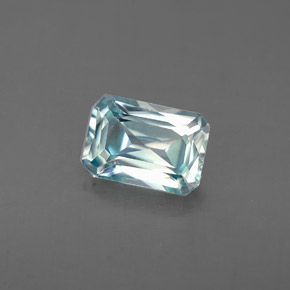 Buy 1.40 ct Blue Zircon 7.08 mm x 5 mm from GemSelect (Product ID: 285560)