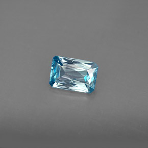 Buy 1.35ct Blue Zircon 7.11mm x 4.84mm from GemSelect (Product ID: 285698)