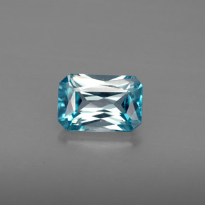 Buy 1.35 ct Blue Zircon 7.11 mm x 4.9 mm from GemSelect (Product ID: 285717)