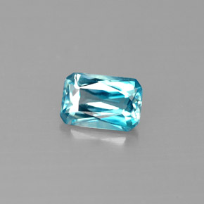 Buy 0.78ct Blue Zircon 5.99mm x 4.05mm from GemSelect (Product ID: 287897)