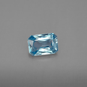 Buy 1.19 ct Blue Zircon 6.97 mm x 4.9 mm from GemSelect (Product ID: 289482)