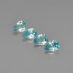 Buy 3.82 ct Blue Zircon 6.94 mm x 5 mm from GemSelect (Product ID: 292658)