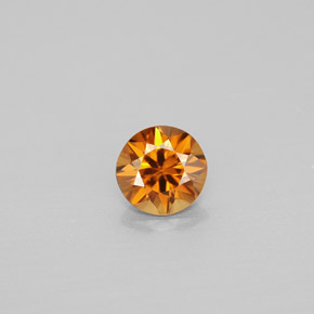 0.86 ct Natural Orange Zircon