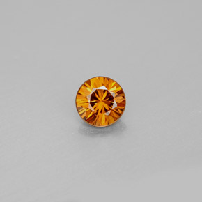 Buy 1.02 ct Orange Zircon 5.52 mm  from GemSelect (Product ID: 295013)