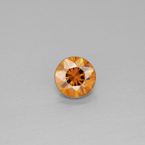 Buy 0.99 ct Orange Zircon 5.53 mm  from GemSelect (Product ID: 295032)