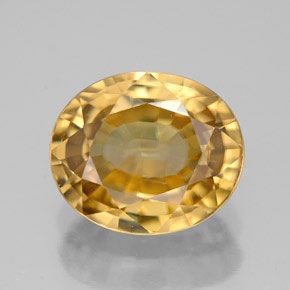 Buy 8.26 ct Yellow Golden Zircon 11.95 mm x 10 mm from GemSelect (Product ID: 307939)