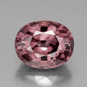 5.3ct Pink Rose Zircon Gem from Tanzania