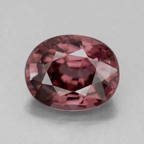 Pink Zircon 4.5ct Oval from Tanzania Natural and Untreated Gemstone
