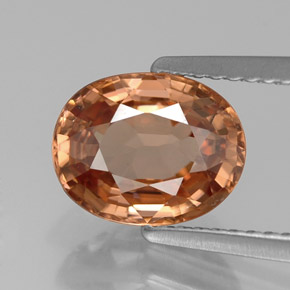 Buy 2.90 ct Rose Orange Zircon 9.06 mm x 7.2 mm from GemSelect (Product ID: 310956)
