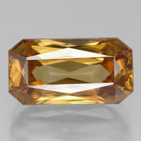 Buy 8.32 ct Yellow Golden Zircon 13.80 mm x 7.3 mm from GemSelect (Product ID: 317052)