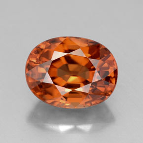 Buy 3.64ct Orange Zircon 9.11mm x 7.08mm from GemSelect (Product ID: 318482)