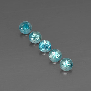 Buy 2.95 ct Blue Zircon 4.65 mm  from GemSelect (Product ID: 318664)