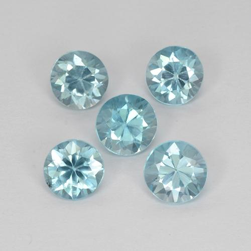 thumb image of 0.5ct Diamond-Cut Blue Zircon (ID: 318667)